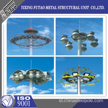 25M Galvanized High Mast Lighting Steel