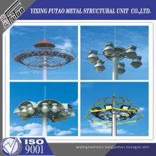 25M Galvanized High Mast Lighting Steel