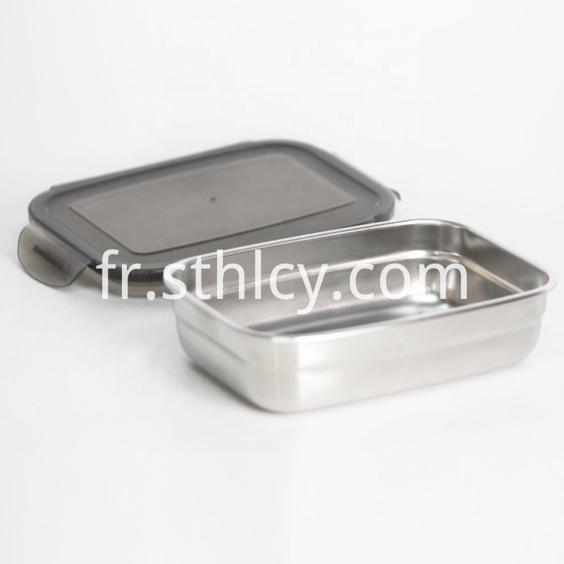 Silicone Lid Food Storage Container