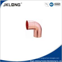 J9005 forjado de cobre de 90 grados codo de socket 1 pulgada de tubería de cobre de montaje