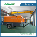 diesel portable air compressors price ,the quality equal to Atlas Copco