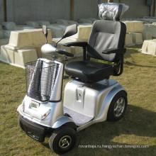 Четырехколесный самокат для инвалидов с электроприводом мощностью 500 Вт (DL24500-2)