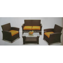 KD 4PCS Cheap Outdoor Furniture Rattan Sofa