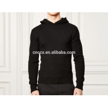 15PKH13 high quality atumn winter cashmere hoodies for men