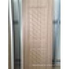 Hot Sale Cheap Price Luxury Style Waterproof WPC (Wood Plastic Composite) Porta de interior com