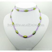 Moda Hematite Green Pearl Shell Wrap