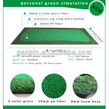 2015 más nuevo mini golf portátil que pone verde