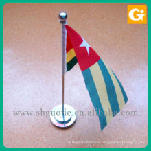 Desk flag stand
