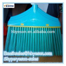 Escova de vassoura de plástico / escova de cerdas macias / escova de cerdas de arame