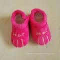 Paw shaped toddler waking indoor wear newborn babies shoes slipper
