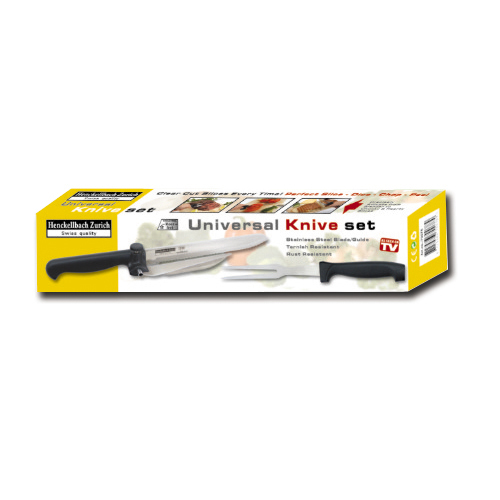 Universal bread Knife set with guide