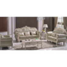 Sofá de couro real / Home Sofa Set (929L)
