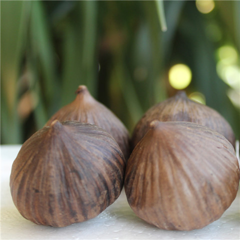 single bulb black garlic