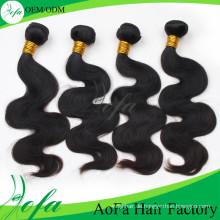 24inch Guangzhou Top Qualität Virgin Welliges Haar Spezielle Haarverlängerung