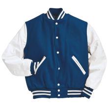 Jaqueta de algodão masculina personalizada com capuz Varsity Jacket em diferentes cores