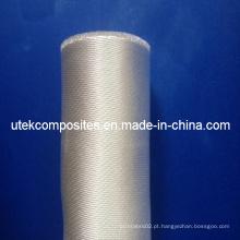 Mais de 96% de dióxido de silício 400GSM tecido de fibra de vidro de cetim