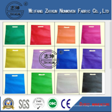 10g-200g Tissu non tissé PP de sacs d'achat de haute qualité
