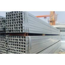 Tubo de aço pré-galvanizado quadrado Q235