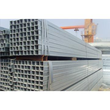 Tubería de acero pregalvanizada cuadrada Q235