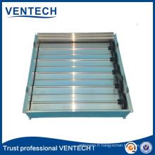 Amortisseur d'air de lames opposées de haute qualité pour l'usage de ventilation