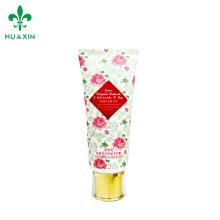 Recipientes cosméticos plásticos do limpador facial de alta qualidade Recipientes cosméticos luxuosos