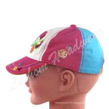 Couleurs colorées en coton, enfants, bébés, enfants, casquettes