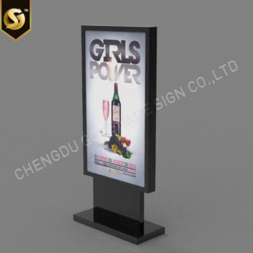 Pylon Signage Lightboxes Beleuchtete Pylon Light Box