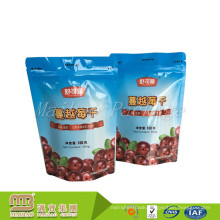 Custom Logo Printing Zip Lock Plastic Bag Stand Up Pouch Packaging Malaysia For Food