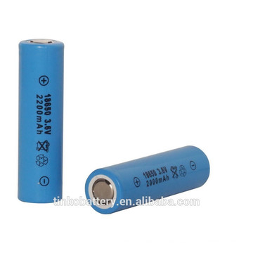 TINKO LIR18650 rechargeable lithium battery