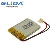 302040 Bateria recarregável de polímero de lítio 3,7V 190Mah