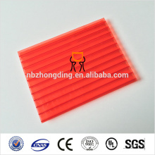 what is polycarbonate sheet-high impact with UV coating