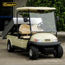 2-местные дешевые гольф-кары электрический багги для продажи клуба гольф-кары с грузом