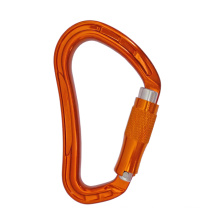 28KN Twist Lock Mountain Climbing For Rescue Forged Aluminum Carabiner