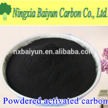 Fuente de madera a base de carbono activado en polvo 200 malla
