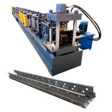 Rolo ereto do perfil do quadro da prateleira da cremalheira do armazenamento de Supermaket que forma a máquina