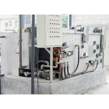 Sistema de dosagem química com alimentador automático de bolas