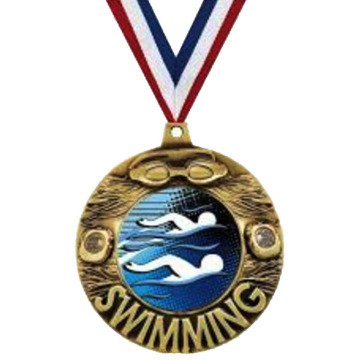 Custom High Quality Swimming Pendant Medals