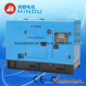 Fuel Less 30kVA Yuchai Diesel Generator Set with ATS