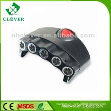 Wheel tire valve cap flash led light solar post cap light 5 led cap light