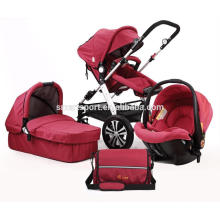 Baby-Spaziergänger mit Fünf-Punkt-Sicherheitsgurten Qualität gesichert