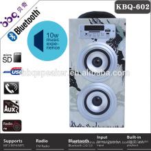 Free Sample Radio Speaker Wooden BT Box OEM Radio BT Amplifier For Exportation