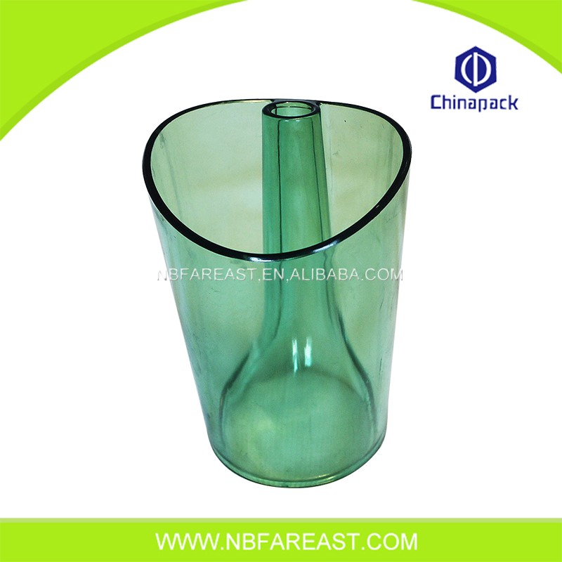 Wholesale good quality transparent plastic ice bucket