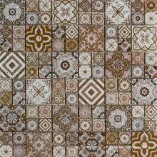 Spanish Style Apartment Decoration Travertine Mosaic Tile Backsplash