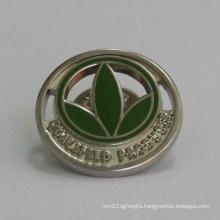 Custom Golden Trefoil Logo Lapel Pin (GZHY-BADGE-024)