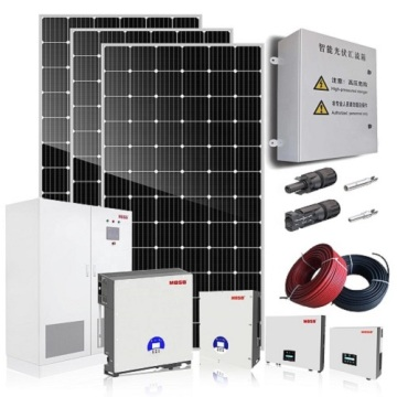 Kit de panel solar de 5KW conectado a la red en la red