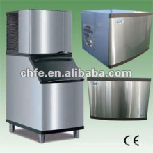 Edible pure air cooled ice cube machine
