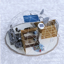 4m 6m 10m PVC  transparent garden geodesic dome air sphericity tent outdoor camping party house
