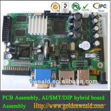 carte de circuit imprimé de lumière de pcba LED de téléphone portable / Assemblée de carte PCB de haute qualité