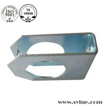 Chapa de niquelado de chapa de metal estampado de acero parte