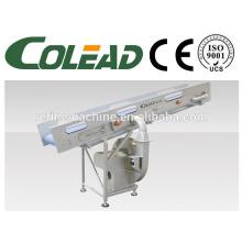 Net belt elevator type draining machine/vegetable and fruit draining machine